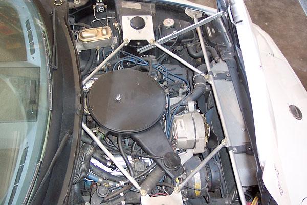 John Walsh TR7 Buick V6 Struct brace