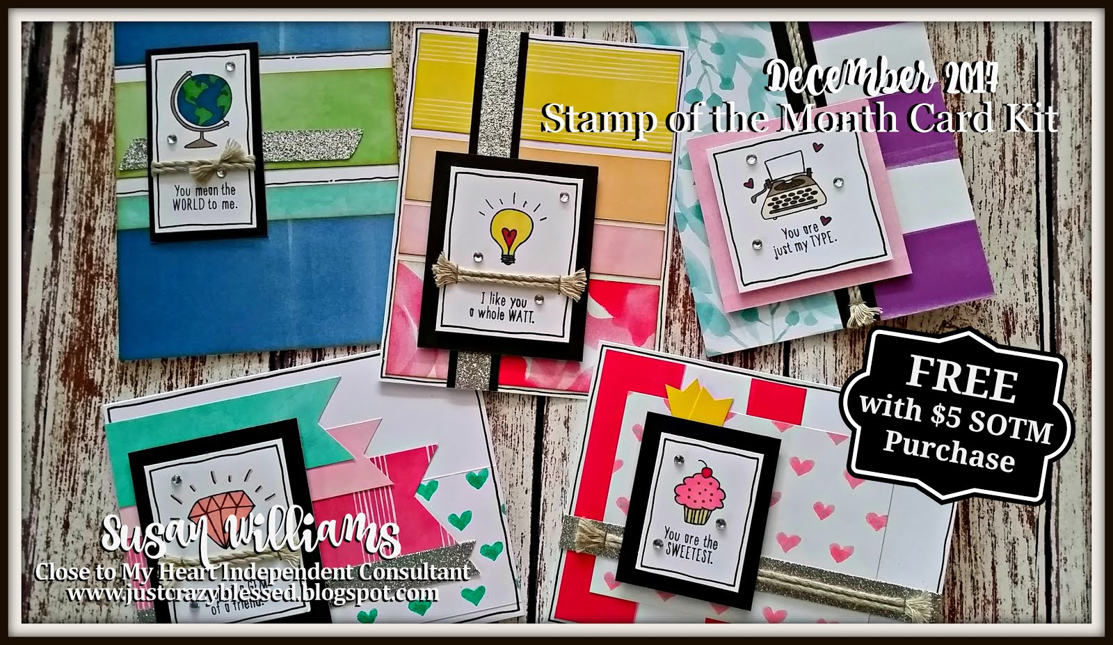 December Stamp of the Month (100) Card Workshop!