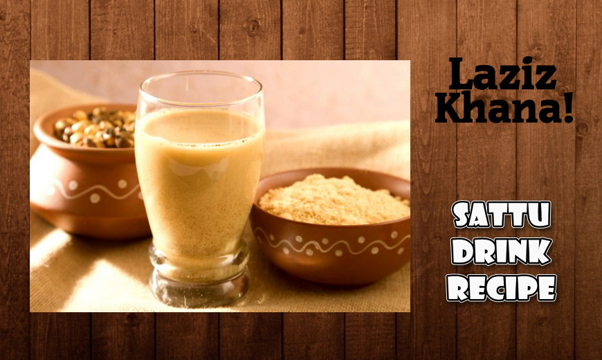 Sattu Drink Recipe in Roman English - Sattu Drink Banane ka Tarika