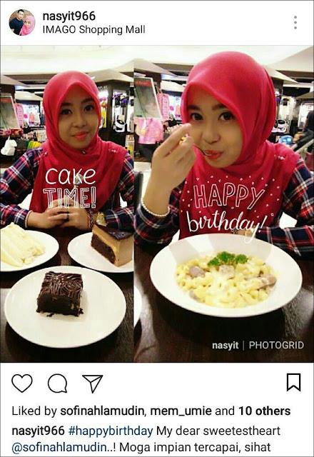 Sambutan Hari Lahir Sofinah Lamudin Di Kota Kinabalu dengan MR.BEE