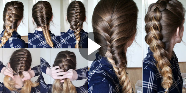 6 Hairstyle Learn In 20 Minutes - How To Braid Your Own Hair For Beginners