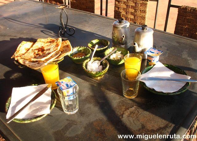 Desayuno-Ait-Ben-Haddou