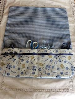Needle cord bag tote