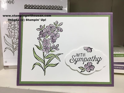 Stampin' Up! Southern Serenade Pretty label Wink of Stella
