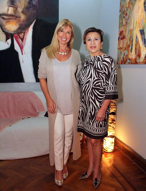 Claudia Arce y Charo Lazo