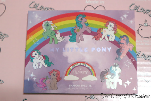 my little pony palette