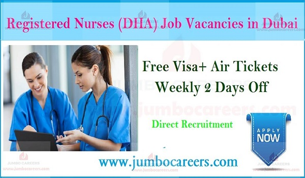 New nursing job openings in Dubai, Recent jobs in Dubai with salary,