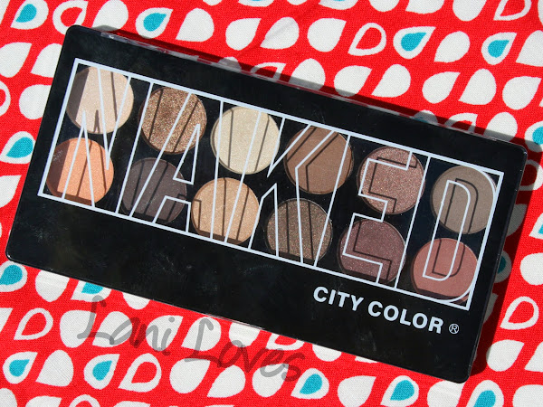 City Color Naked Palette - Swatches & Review