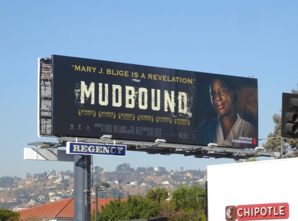 Mudbound Mary J Blige FYC billboard