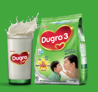 Maklumat Khasiat Dumex Dugro Untuk Sikecil Berusia 1-3 Tahun