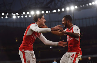 Hector Bellerin Reacts To Arsenal #-1 Win Over Stoke