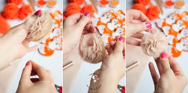 Jak zrobić pompon z tiulu?