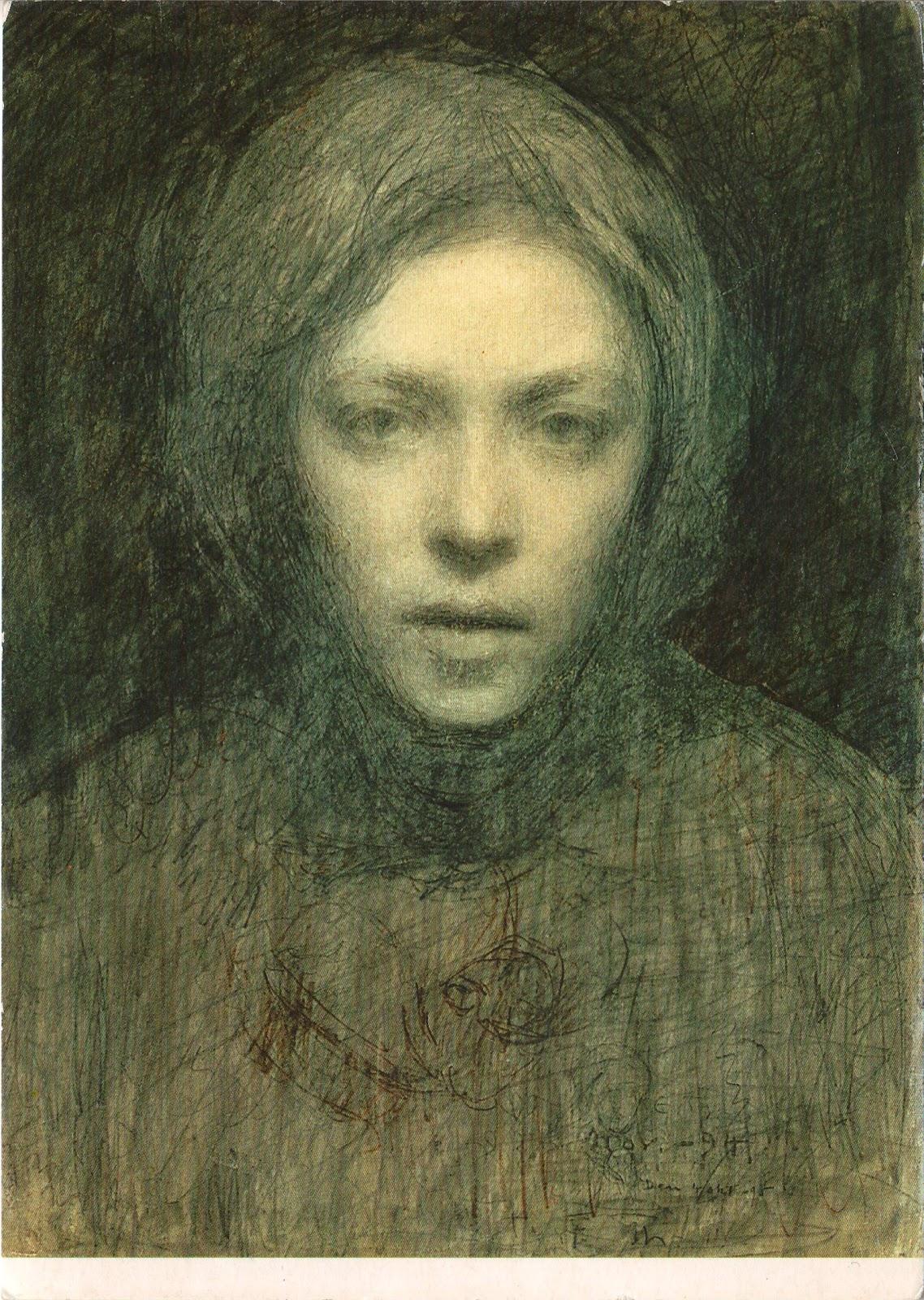 postcards for hiser: Ellen Thesleff - Omakuva, 1894-95