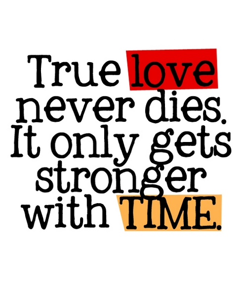 quotes on love never dies