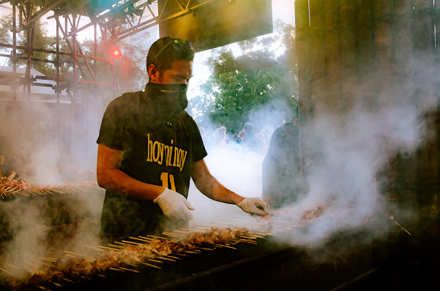 Hoy Pinoy BBQ at Melbourne's Noodle Night Market