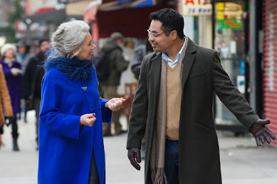 Helen Mirren and Michael Pena in Collateral Beauty (9)
