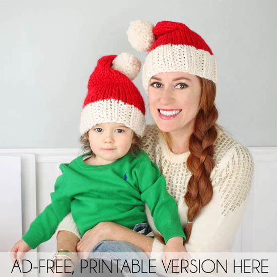 https://shopginamichele.com/collections/baby/products/family-santa-hats-knitting-pattern