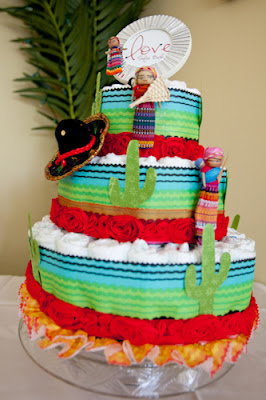Paper Tiered Cake Stand