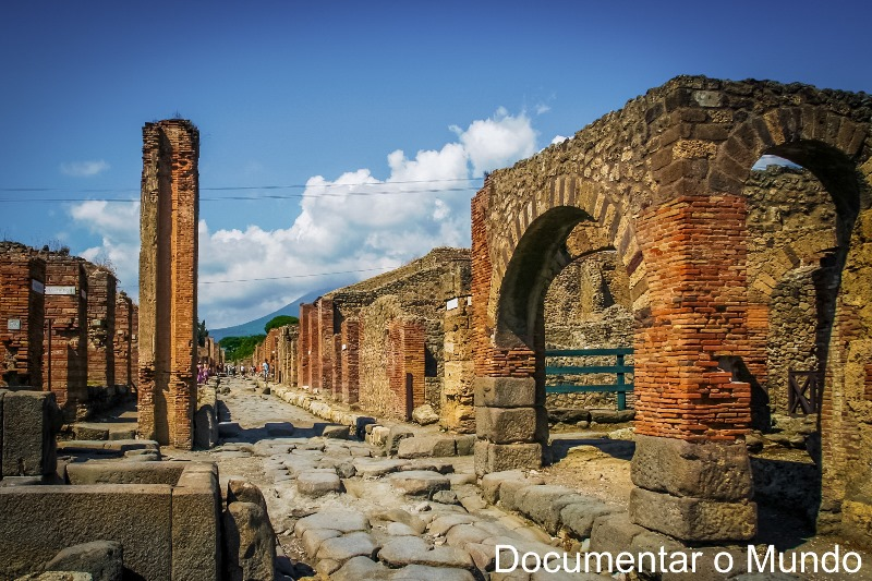 Calçada Romana, Pompeia, Itália
