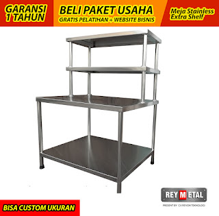 Jual Meja Stainless Steel di Salatiga Jawa Tengah