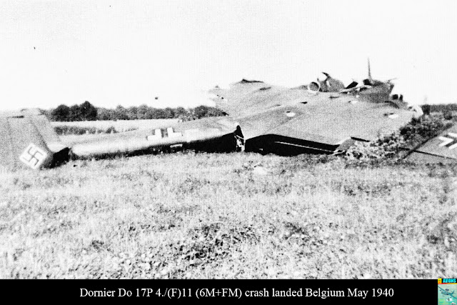 4 May 1940 worldwartwo.filminspector.com Heinkel 111 crashed