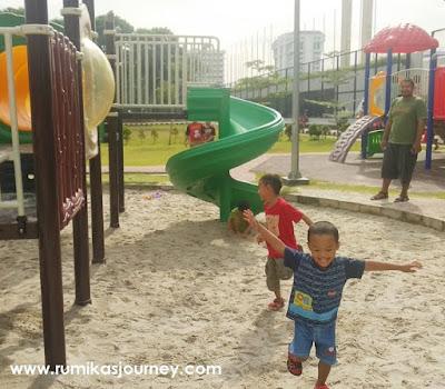aktivitas seru di taman lapangan banteng jakarta