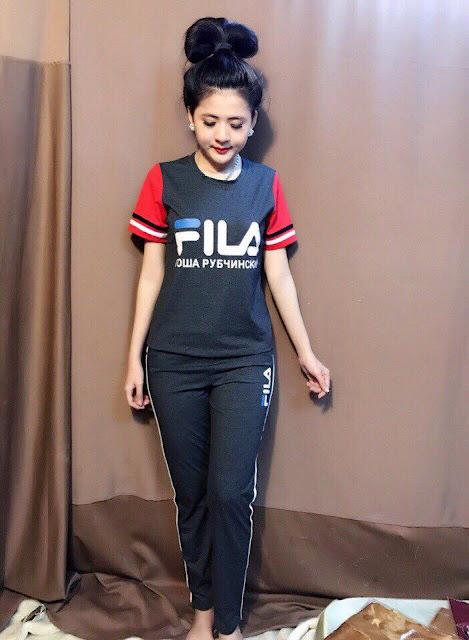 Giới thiệu đồ bộ quần dài tay ngắn Fila đẹp tphcm
