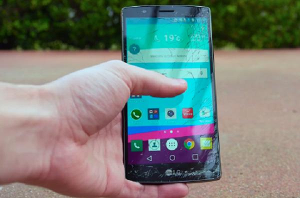 Màn hình LG G4 bị vỡ