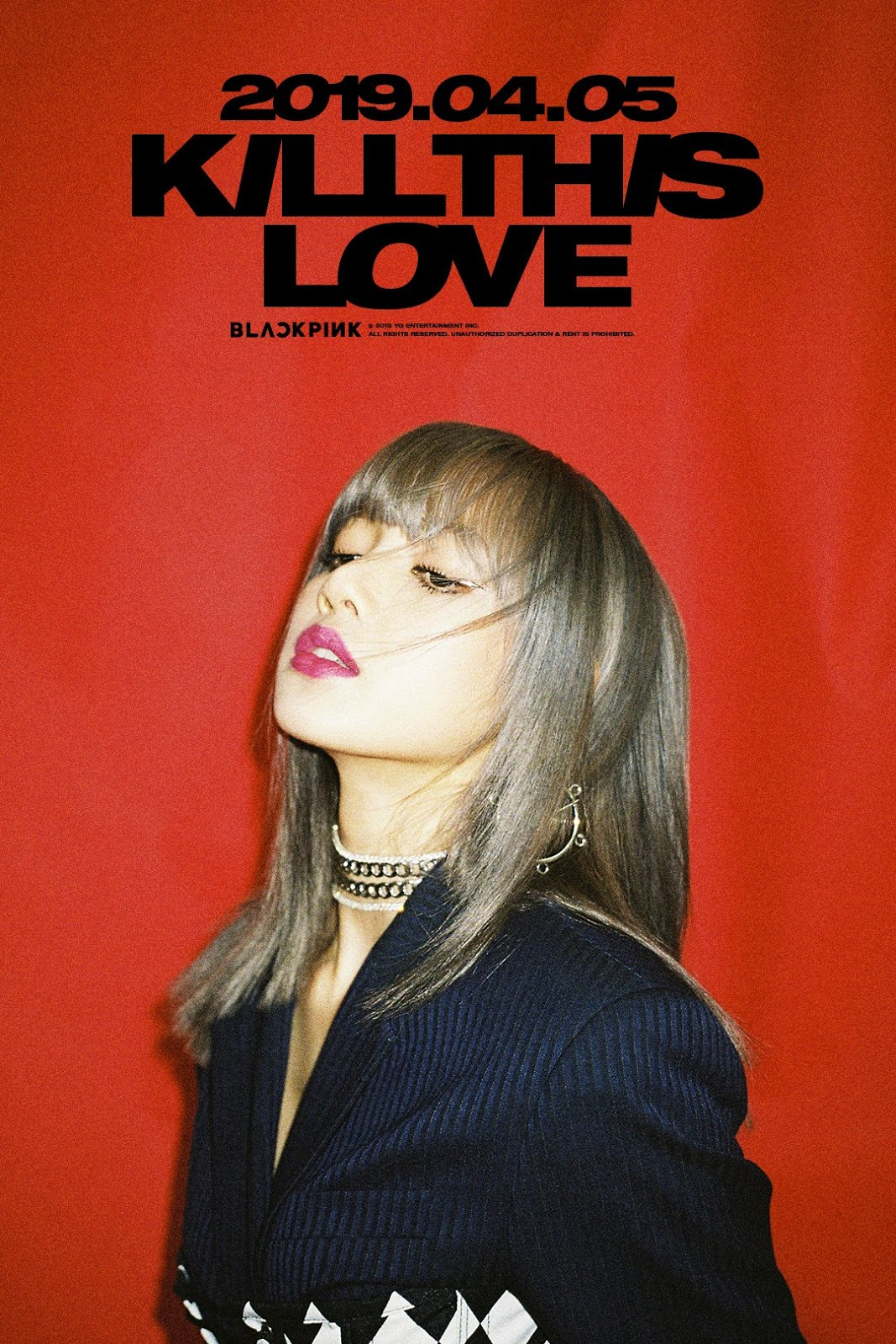 #BLACKPINK 'KILL THIS LOVE' LISA COMEBACK TEASER POSTER