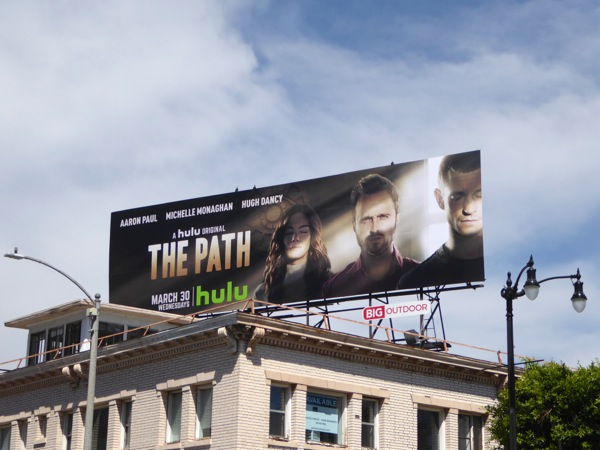 The Path Hulu series billboard