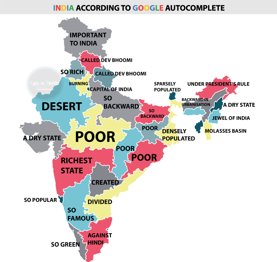 What Indians are googling about their states
