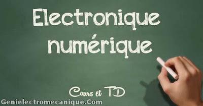 Cours et TD d'électronique numérique