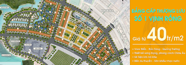 Phân khu quy hoạch dự án Mon Bay Hạ Long
