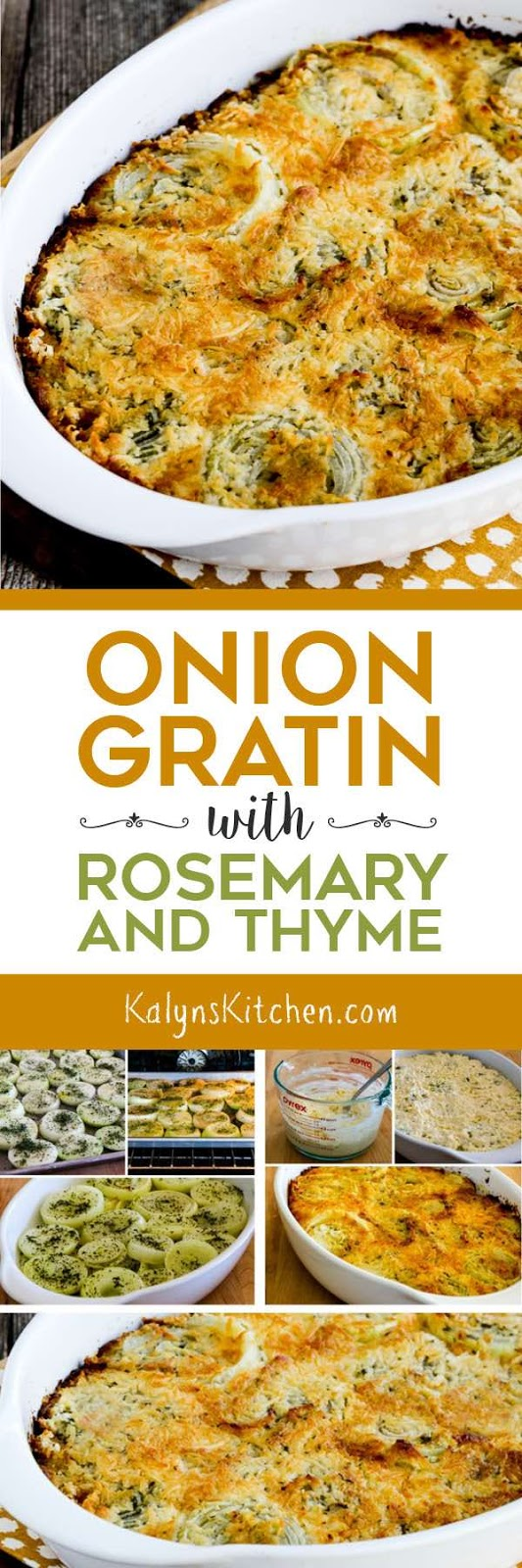 Onion Gratin with Rosemary and Thyme - Kalyn's Kitchen