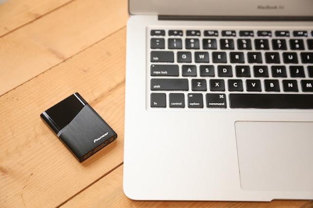 Pioneer P1 外接式固態硬碟 APS-XS02 USB-C SSD