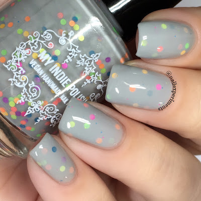 my indie polish #1 egg hunter december 2017 polish pickup holidays around the world swatch