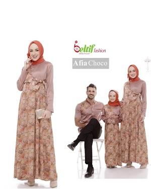 Baju Couple Batik Keluarga Terbaru Afia By Beltif Fashion