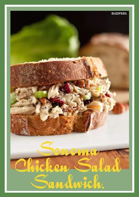 Sonoma Chicken Salad Sandwich.