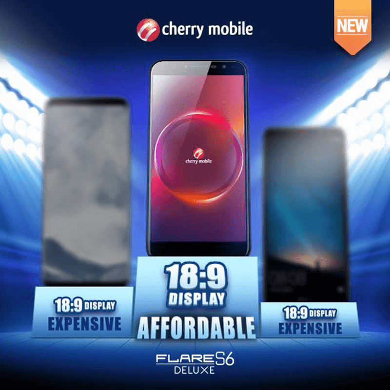 Cherry Mobile silently launched the Flare S6 Deluxe with 18:9 screen