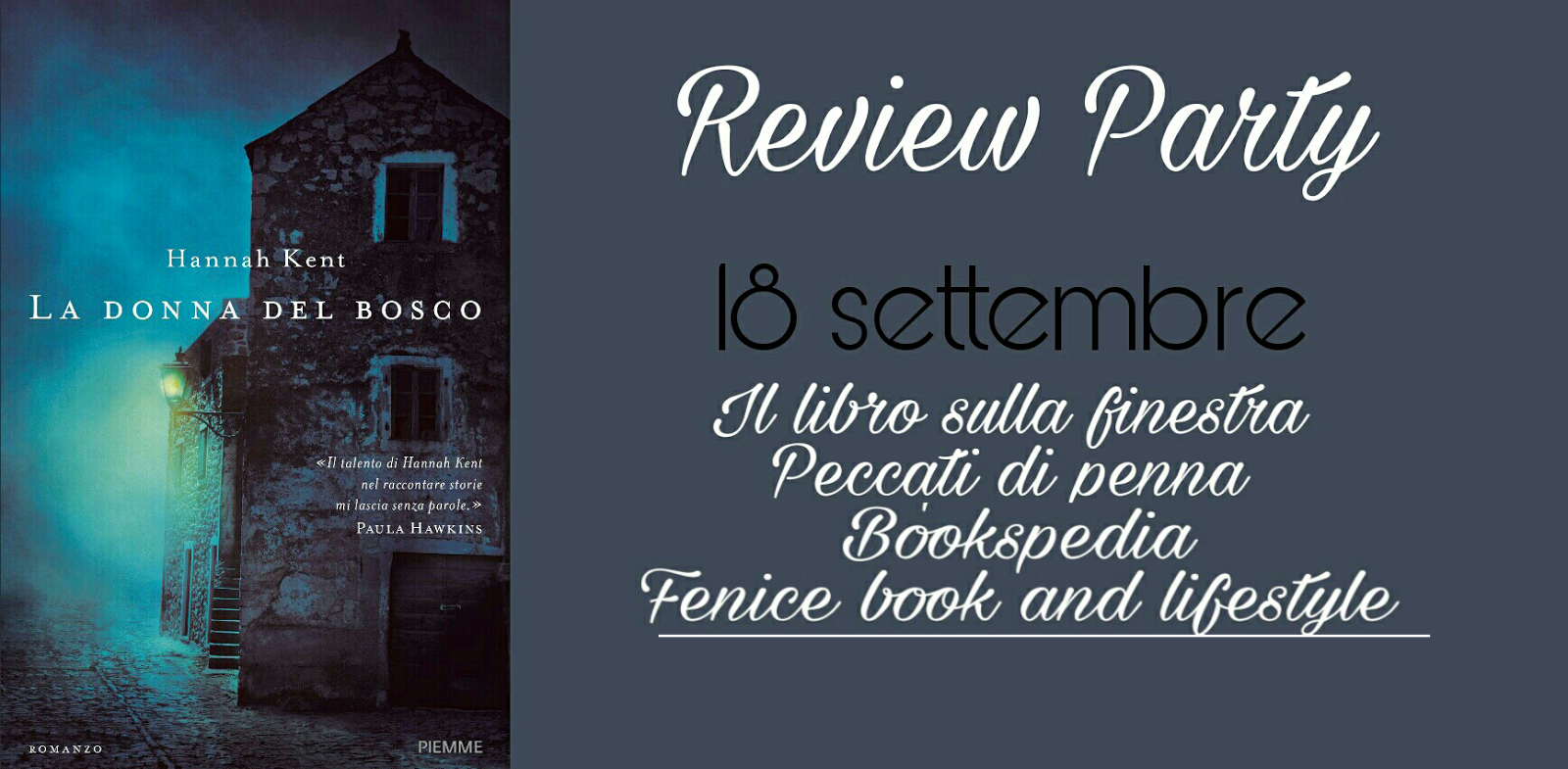 Il libro sulla finestra recensione la donna del bosco - La finestra di fronte trama ...
