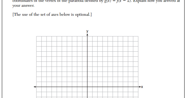 (x, why?): Daily Regents: Translating a Function (June 2014)