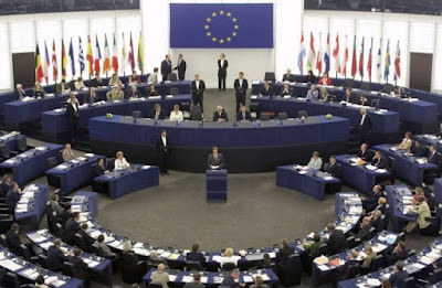 The European Parliament stopped cooperation with Russia