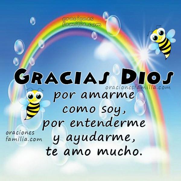 Oración para niños, oraciones cortas para que la digan los niños en la noche o el día, Gracias Dios, plegaria, oración para peques, pequeños, hijos por Mery Bracho.
