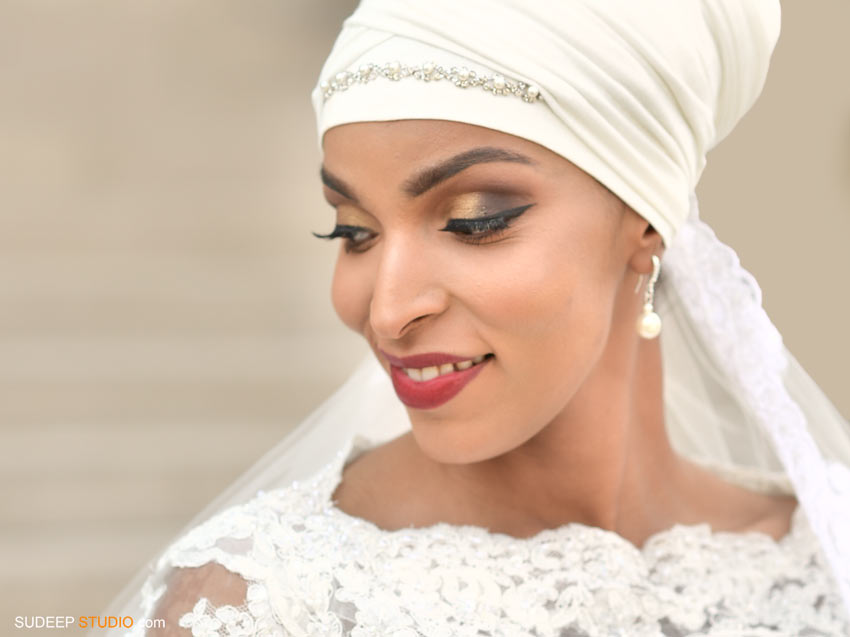 Somali Bride Dress and Style - SudeepStudio.com Ann Arbor Wedding Photographer