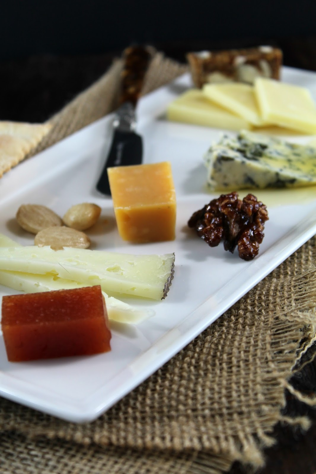 I had purchased many years ago from Cost Plus World Market the rectangular plates that were perfect to service these inidual cheese plates. : cheese plate combinations - pezcame.com