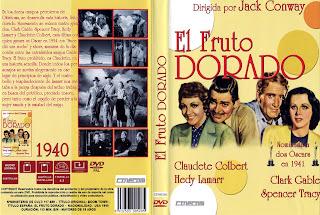 Carátula dvd: Fruto dorado (1940)