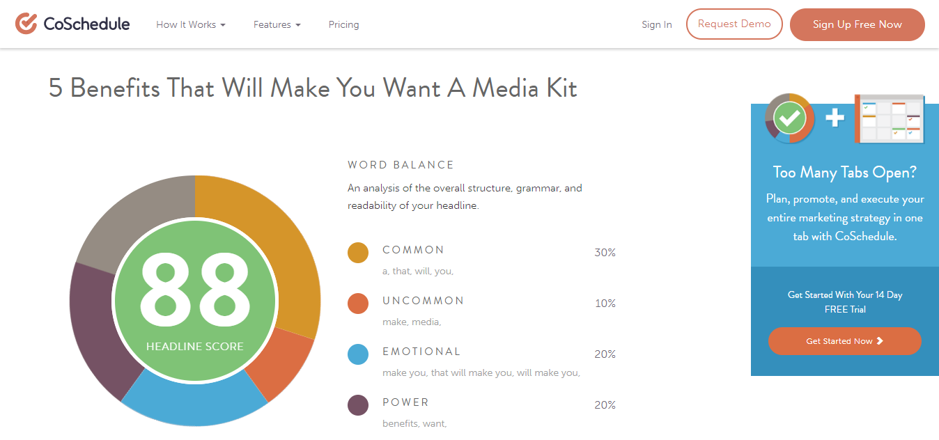 6 Free Blogging Tools For Bloggers Headliner Analyser