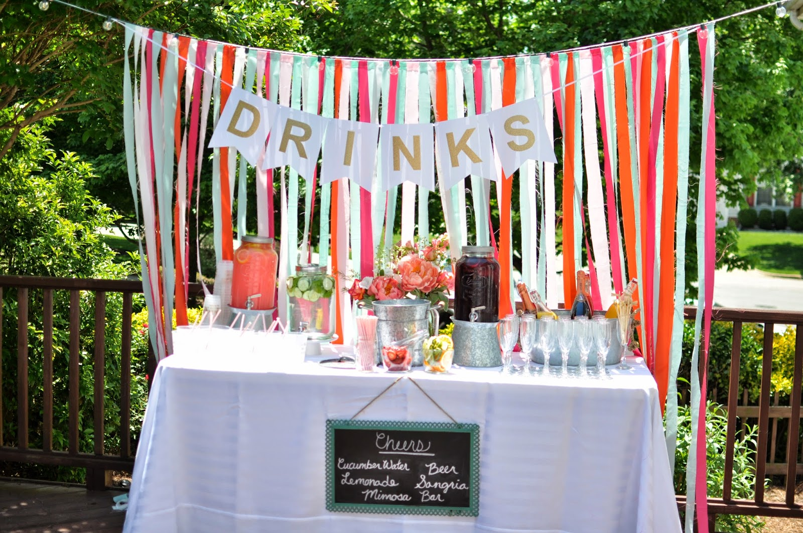 outdoor party decorations diy - Design Decoration
