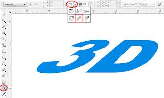 Cara Membuat Tulisan 3D Keren di CorelDRAW x4