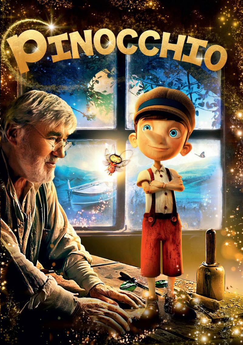 Pinocchio [2015] [DVDR] [NTSC] [Latino]